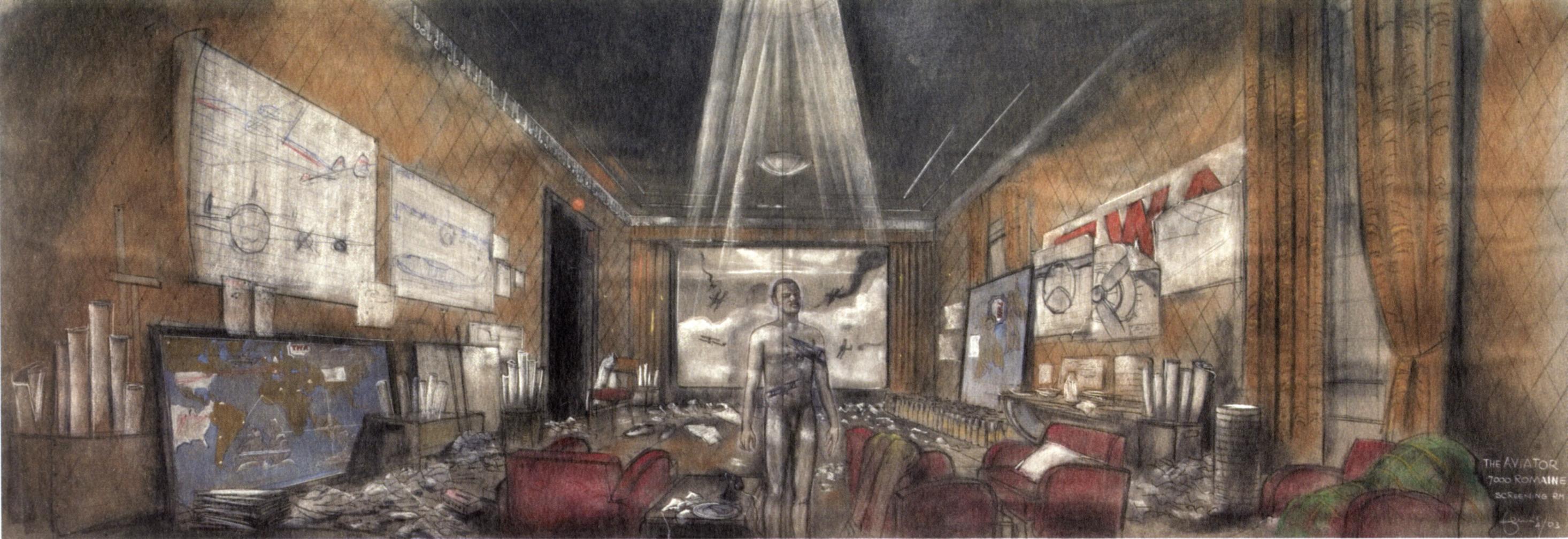 Dante ferretti design and construction for the cinema for Sala new york